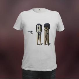 """Camiseta """"Pulp Fiction"""""""