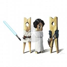 Han Luke Leia