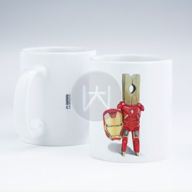 "Taza ""Iron Man"""