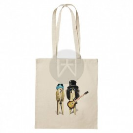 "Tote Bag ""Guns & Roses"""