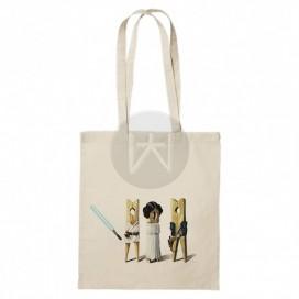 """Tote Bag """"Han Luke Leia"""""""