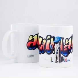 "Taza ""Graffiti"""