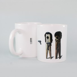 "Mug ""Peg Fiction"""