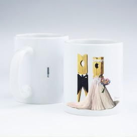 "Taza ""Wedding 01"""