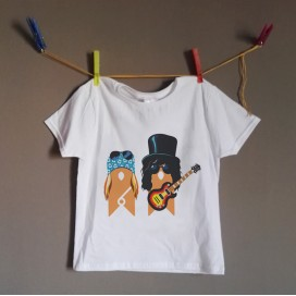 "Camiseta ""Guns & Roses KIDS"""