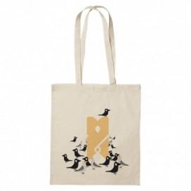 """Tote Bag """"Birds  KIDS"""""""